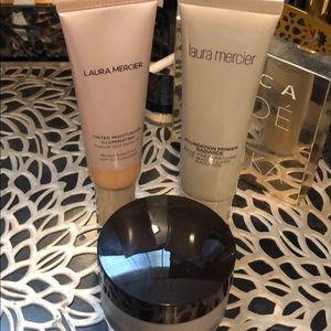 Lauren mercier foundation, prime & setting powder!